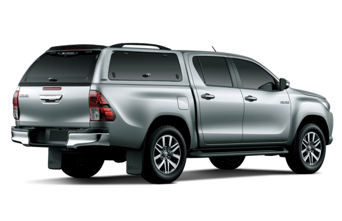 Toyota Hilux 2015 Hardtop Canopy Carryboy Double Cab With Side
